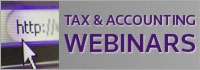 Tax & Accounting Webinars